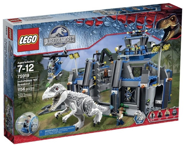 LEGO Jurassic World Building Kit Review