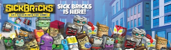 Spin Master Playset Sick Bricks Review