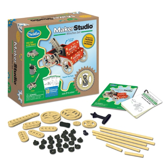 ThinkFun Maker Studio Construction Sets Review
