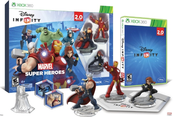Disney INFINITY Marvel Super Heroes 2.0 Edition Video Game Starter Pack Xbox 360