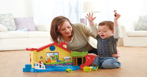 Fisher Price Little People Place Musical Preschool