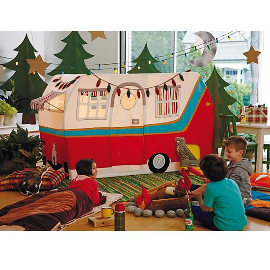 The Land of Nod Jetaire Camper Play Tent