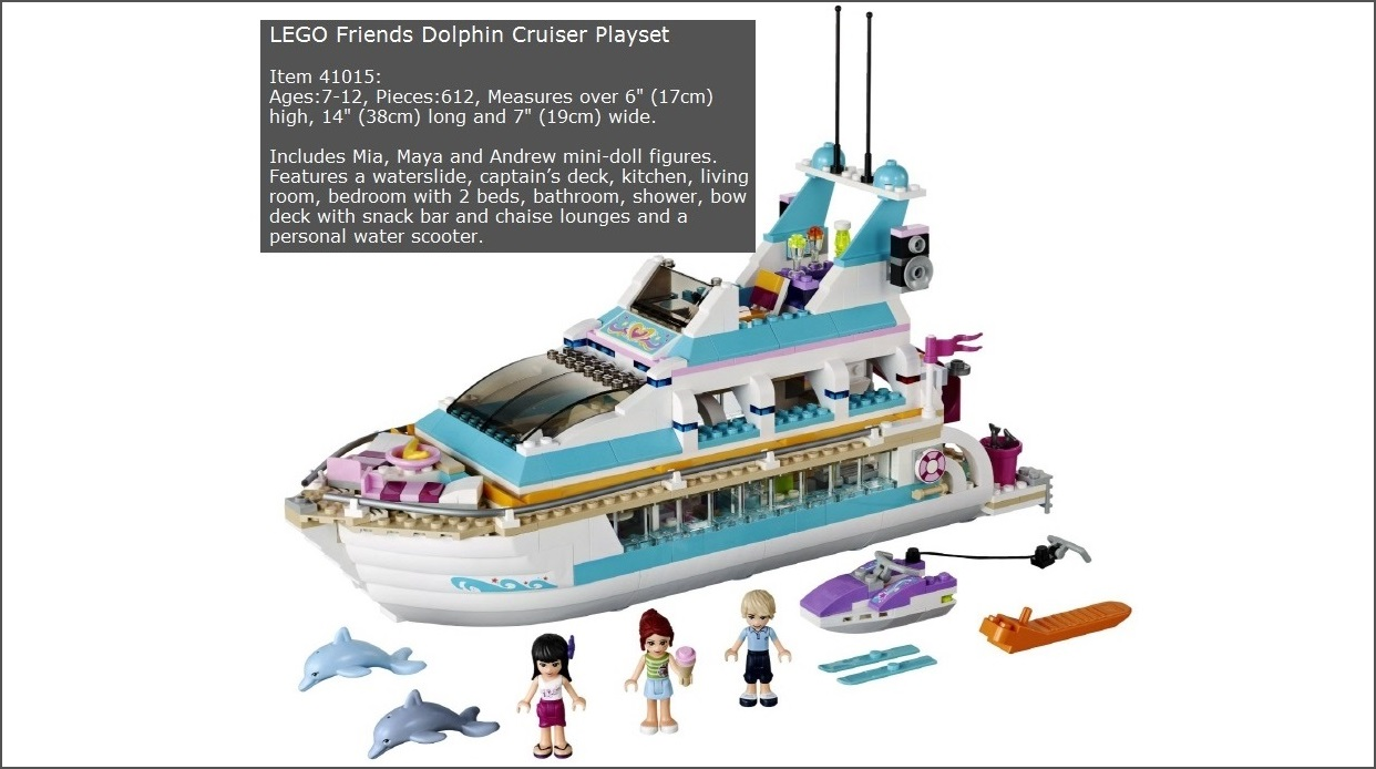 LEGO Friends Dolphin Cruiser Playset Review