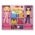 The Melissa & Doug Abby & Emma Deluxe Magnetic Dress-Up Set