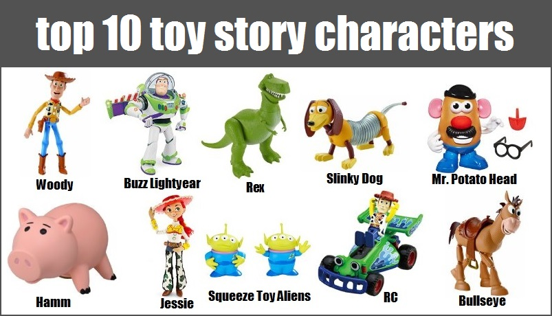 Toy Story Character List : Best toy story characters toys all