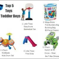 Top 5 Toddler Toys for Boys