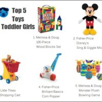 Top 5 Toys for Toddler Girls - All Best Toys