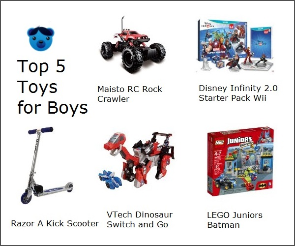 Top 5 Toys For Boys : Top toys for boys all best