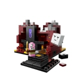 lego minecraft the nether instructions
