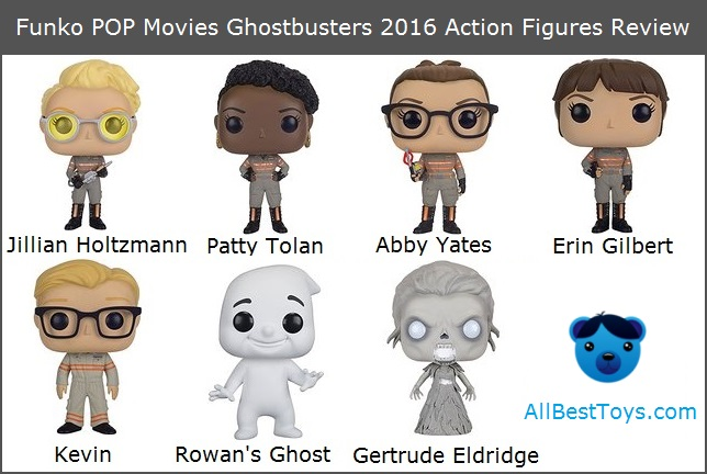 Funko POP Ghostbusters 2016 Action Figures Review