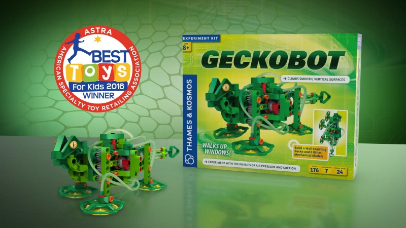 thames kosmos Geckobot robotic educational toy