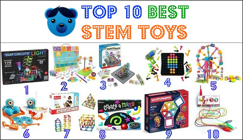 Top Ten Toys For Toddlers : Top best stem toys for kids all